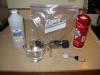 Disassembled Volcano Vaporizer Parts Ready to be Cleaned